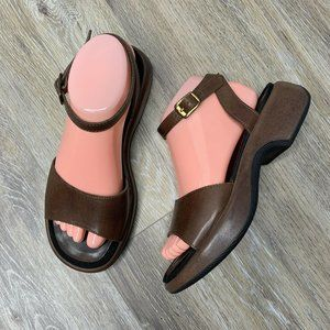 Dansko Brown Sandals Size 7.5 - 8 Leather Comfort